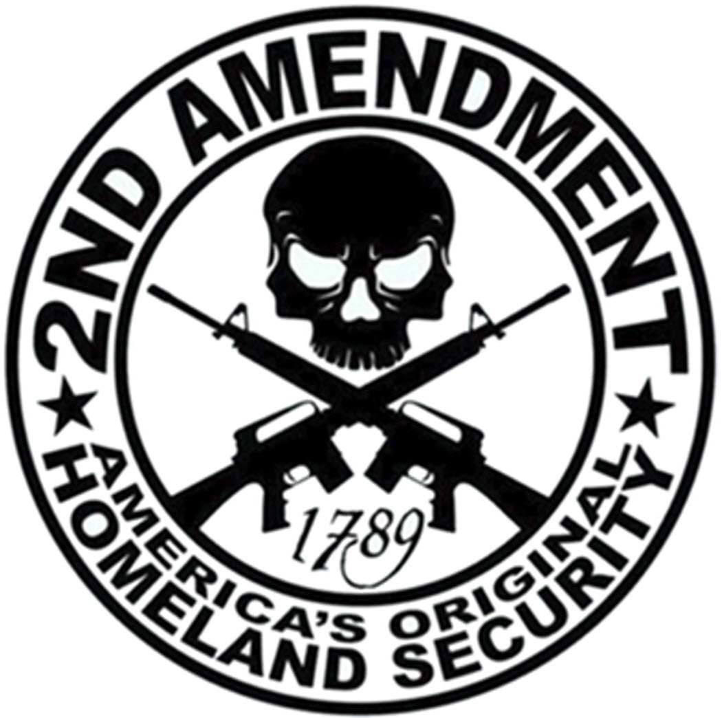 m carbo apparel Glock 42 vs Ruger LCP 2nd amendment sticker original homeland security